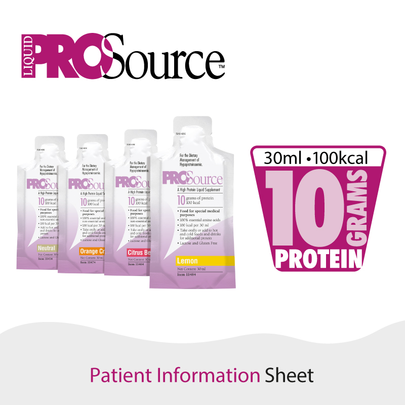 ProSource Liquid - Patient Information Sheet