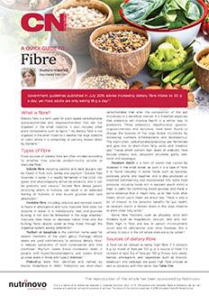 A Quick Guide to Fibre
