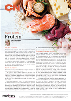 A Quick Guide to Protein