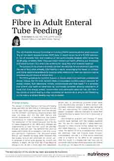 Review Article - Fibre in Adult Enteral Tube Feeding