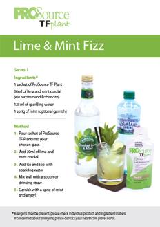 Lime & Mint Fizz